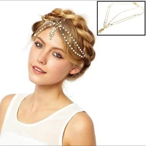 Jewelry - Indian Style mattha Patti circular head jewelry